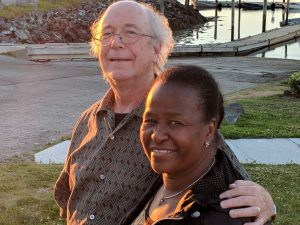 Richard Nelson and wife Jeraldine
