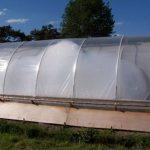 SolaRoof Hoop Greenhouse