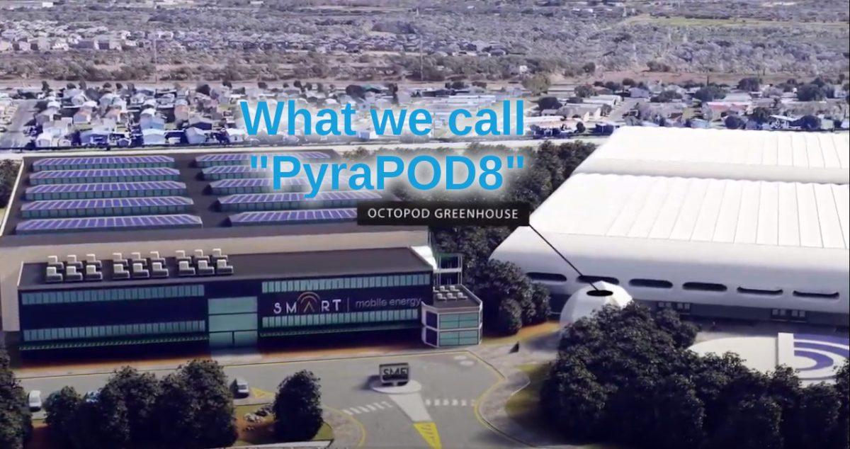 PyraPOD8 at Smart Mobile Energy's San Antanio Site