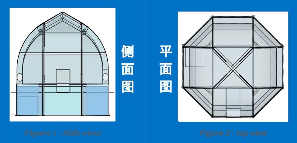 金8温室的大致结构和形状