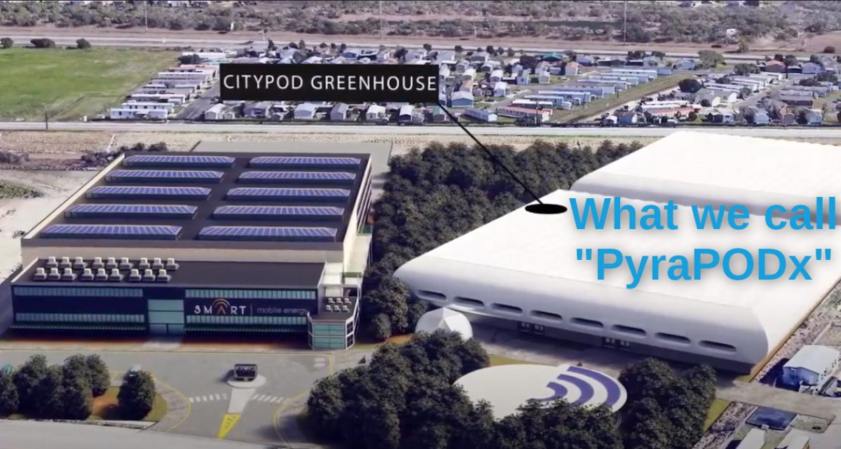 PyraPODx at Smart Mobile Energy's San Antanio