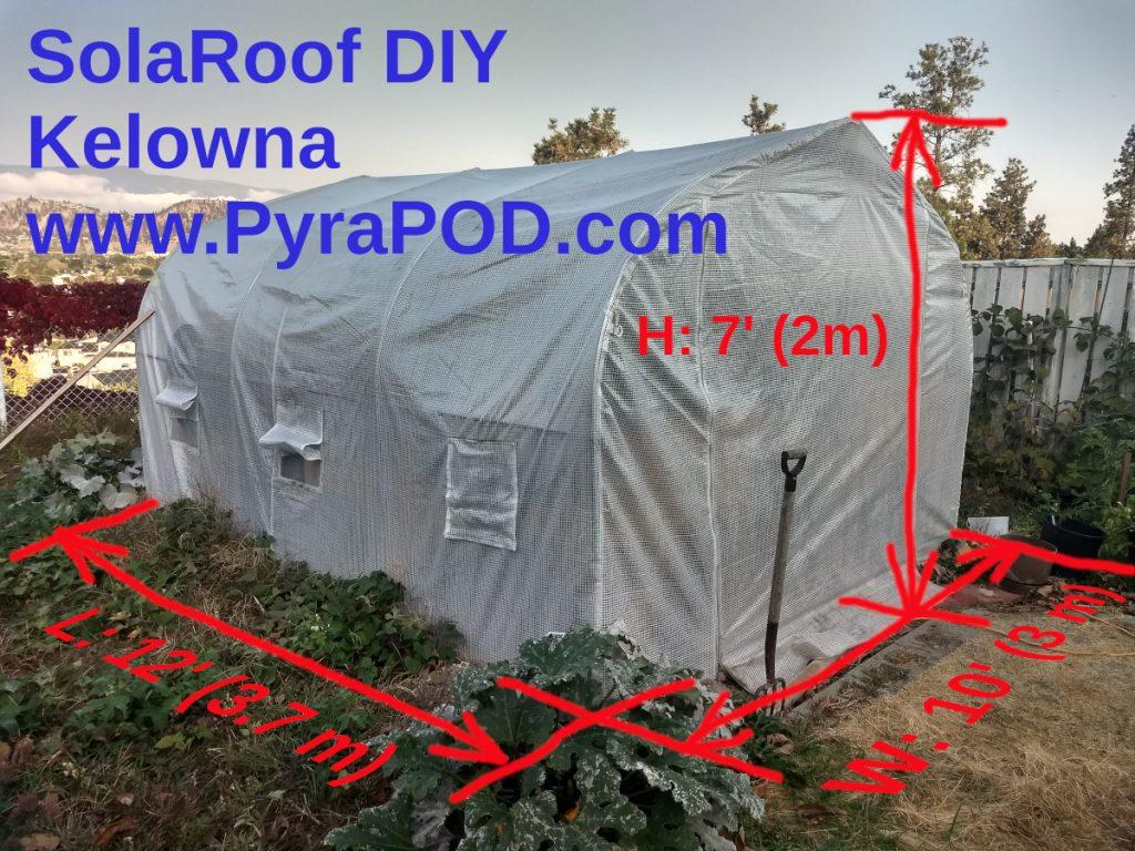 DIY Project: SolaRoof Kelowna 2020