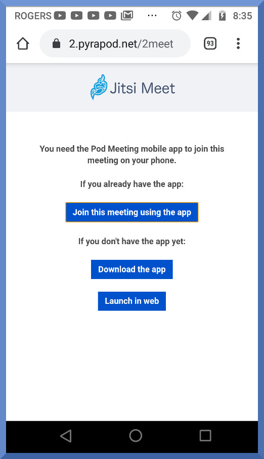Pod Meeting
