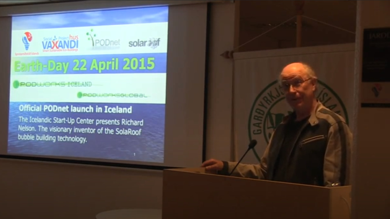 2015: Richard gave a talk on Earth Day April 22.