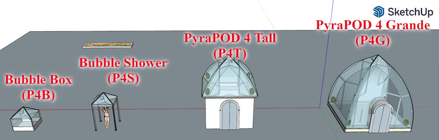 Full line of PyraPOD4