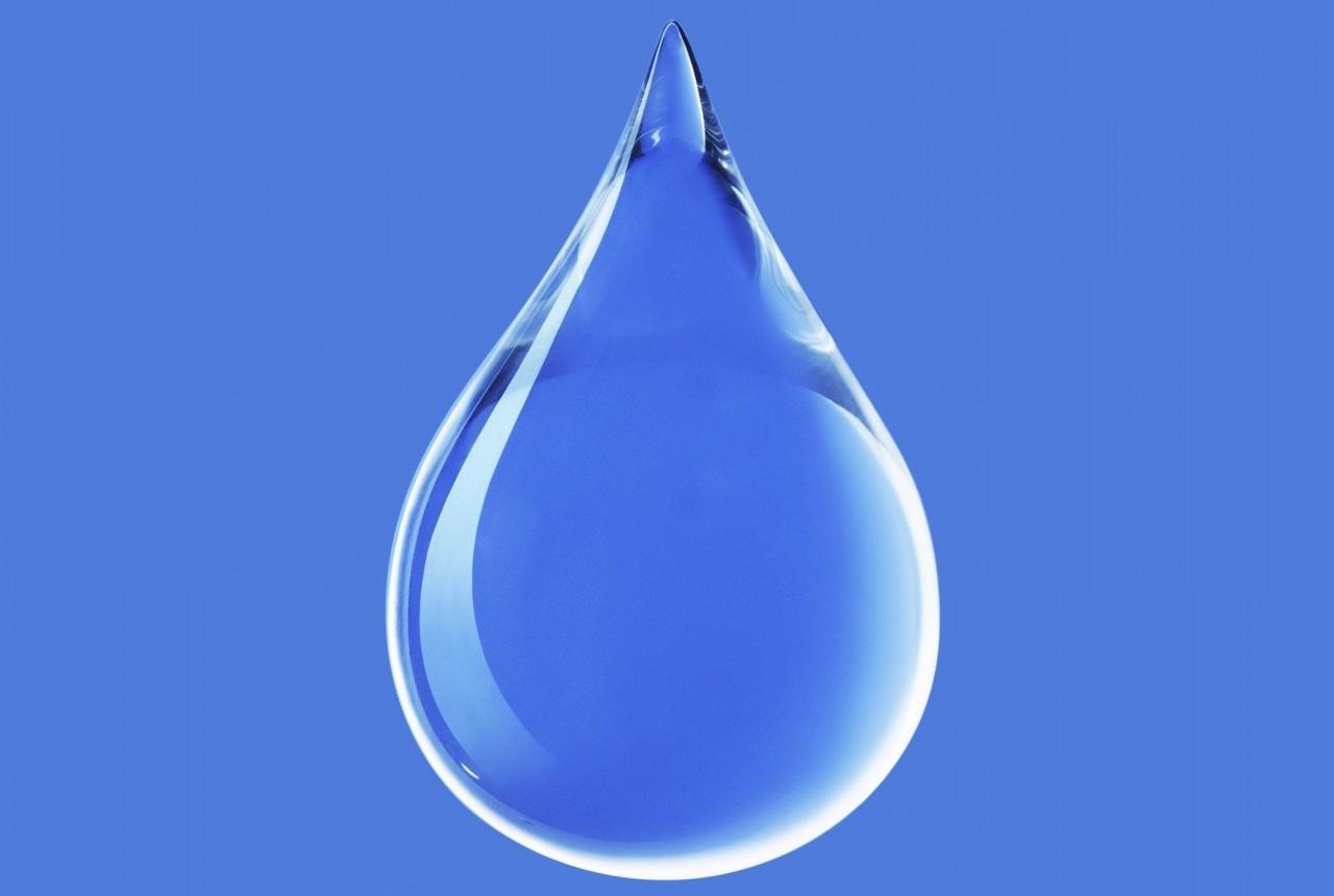 運動中的水滴